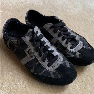 Coach Grey & Black C Sneakers